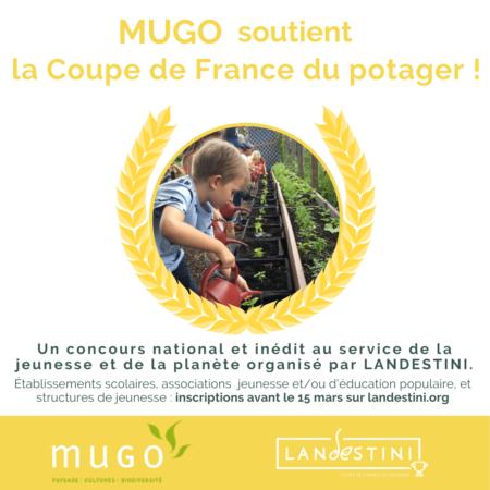 Landestini Coupe France Potager Mugo soutient